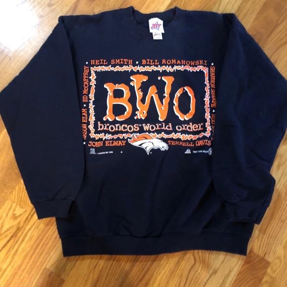Vintage Other - Vintage Broncos World Order Sweatshirt
